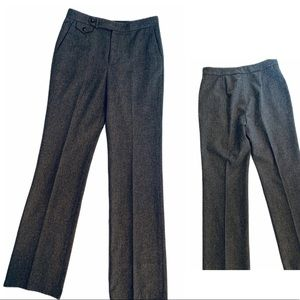 Ralph Lauren Gray Lambs Wool Slacks Tall Pants